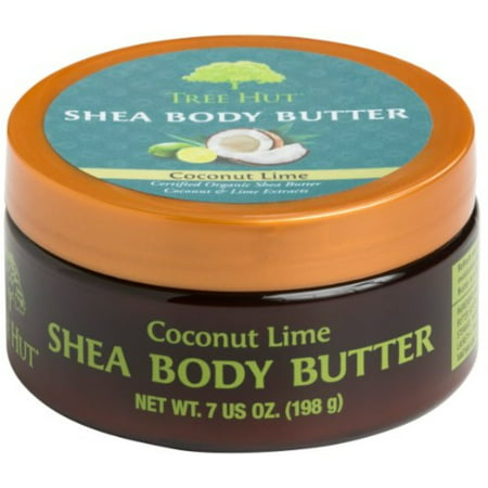 Lime Orange Butter (3 Pack - Tree Hut Shea Body Butter, Coconut Lime 7 oz)