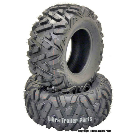 2 New WANDA ATV UTV Tires AT 26x11-12 26x11x12 DURABLE 6PR 10167 DEEP TREAD (Atv Tire 26x11x12)