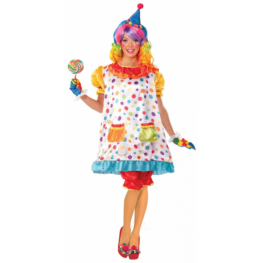 Wiggles the Clown Adult Costume - Standard
