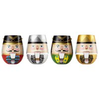 Lolita Nutcrackers Stemless Wine Glasses Set of 4 #6002693