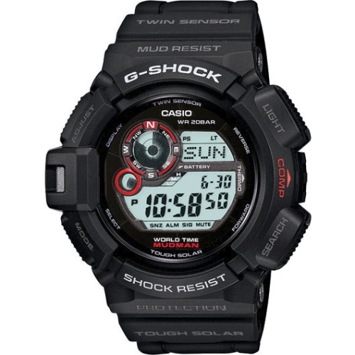 Casio Scorpion G9300-1 Wristwatch with Altimeter, Barometer and Thermometer by Casio Computer Co., Ltd