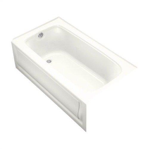 Kohler K-1150-LA-0 White Bancroft5 Left Hand Apron Bath