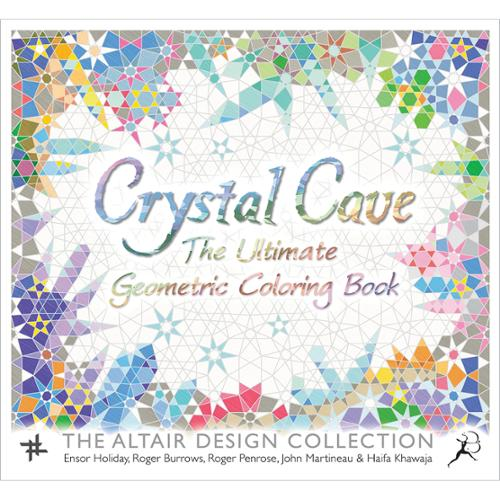 St. Martin's Books Crystal Cave Coloring Book