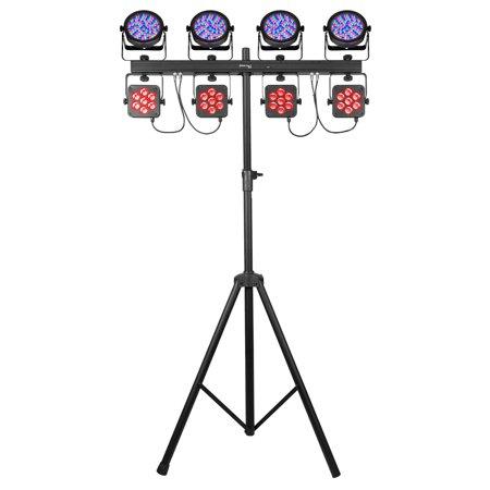 Chauvet DJ 4Bar Flex T USB LED RGB DMX Light Effect System w