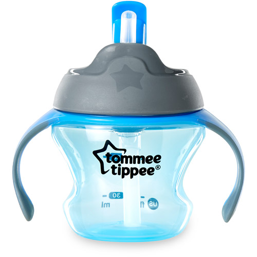 Tommee Tippee 1st Straw Transition Cup, BPA-Free, 1-Pack (Colors May Vary)