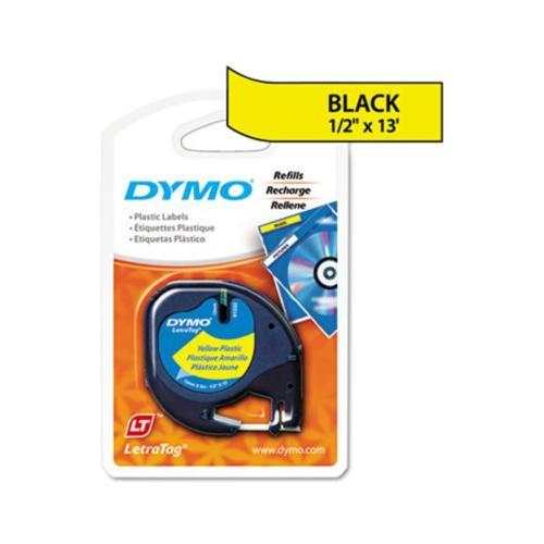 Dymo LetraTag Plastic Label Tape Cassette DYM91332
