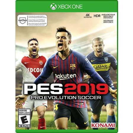 Pro Evo Soccer 2019, Konami, Xbox One,