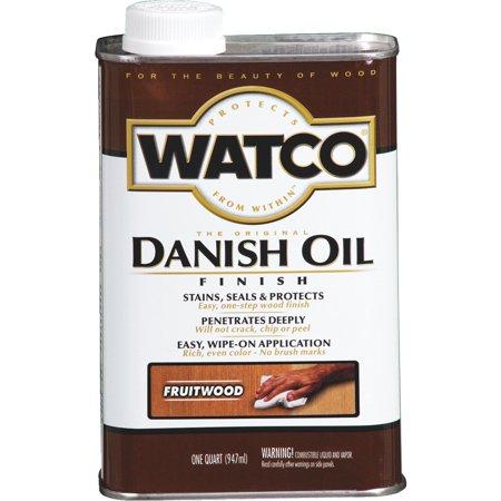 (Watco Danish Oil Finish)