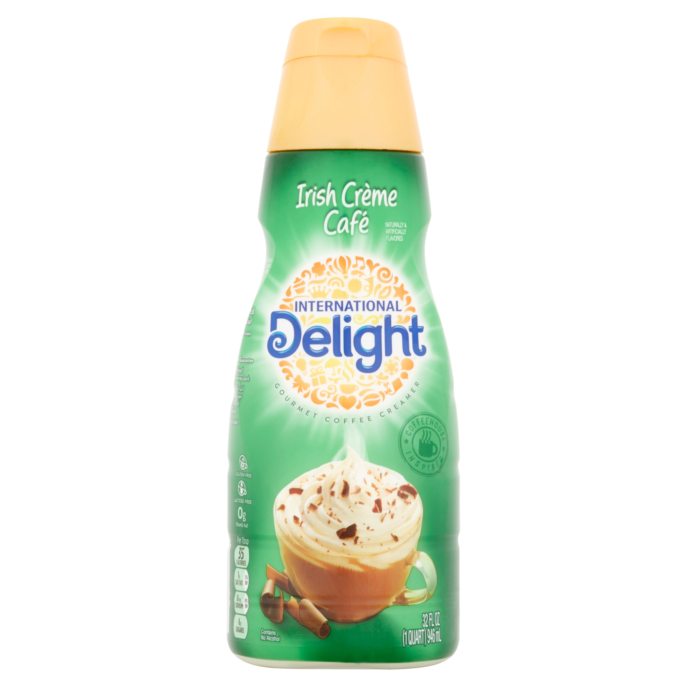 International Delight, Irish Creme Coffee Creamer, 1 Quart