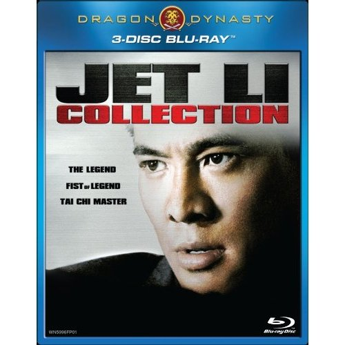 Dragon Dynasty: Jet Li Colletion - The Legend / Fist Of Legend / Tai-Chi Master (Blu-ray) (Widescreen)