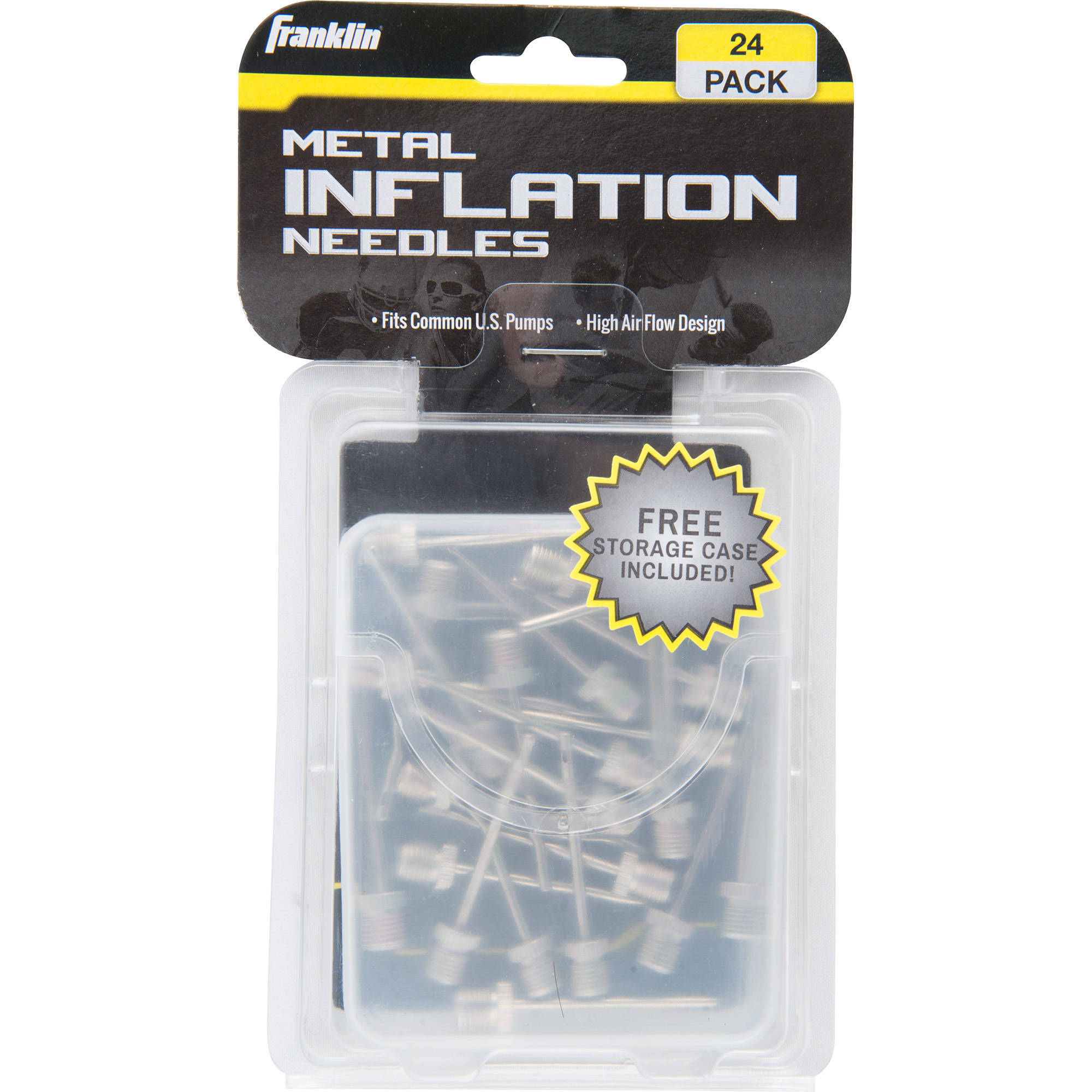 Franklin Sports 24-Pack of Metal Needles