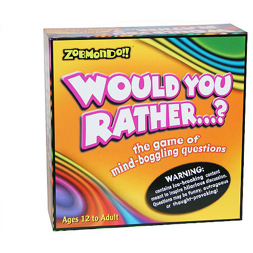 Zobmondo Would You Rather...? Classic Game