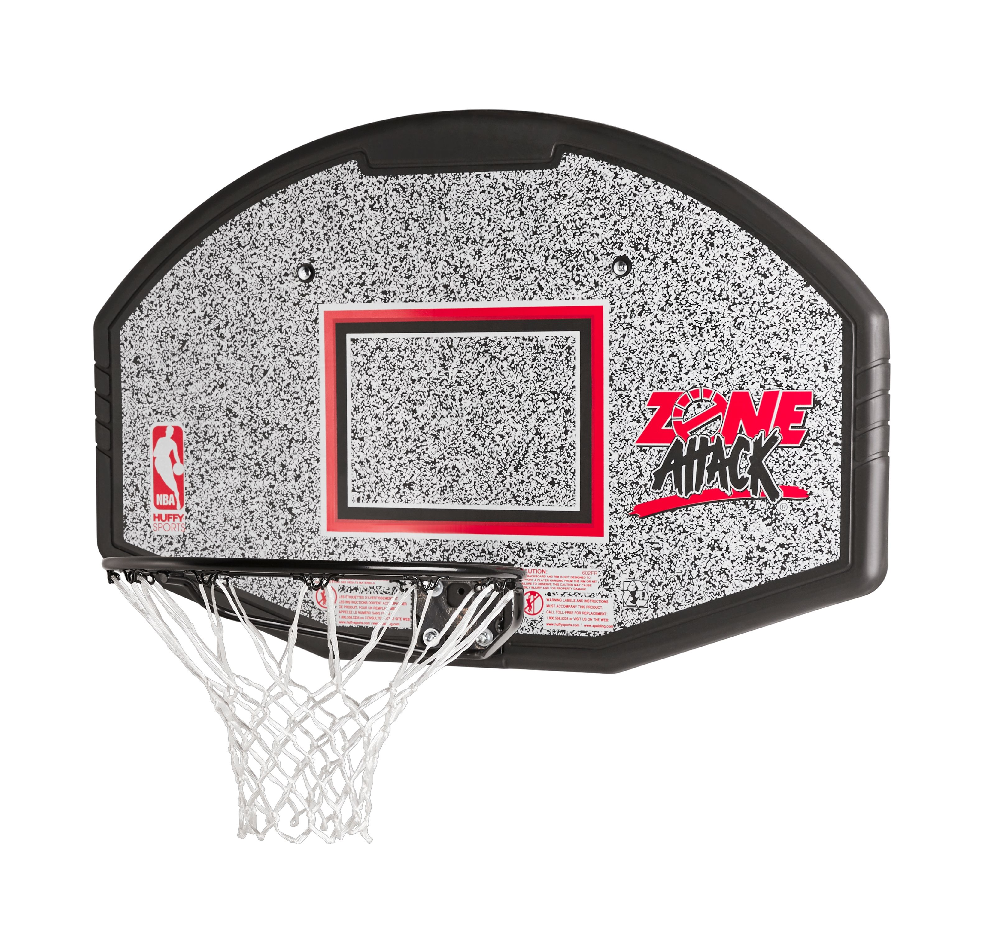 "Spalding NBA 44"" Eco-Composite Fan Backboard Combo"