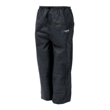Frogg Toggs 63231404 Bull Frogg Rain Pants for Men - Black - XL - image 1 of 1