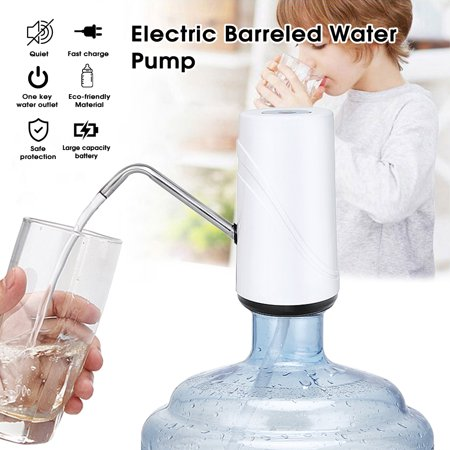 Automated Water - Wireless Automatic Water Dispenser USB Rechargeable Automatic Bottle Water Pump Electric Drinking Water Pump