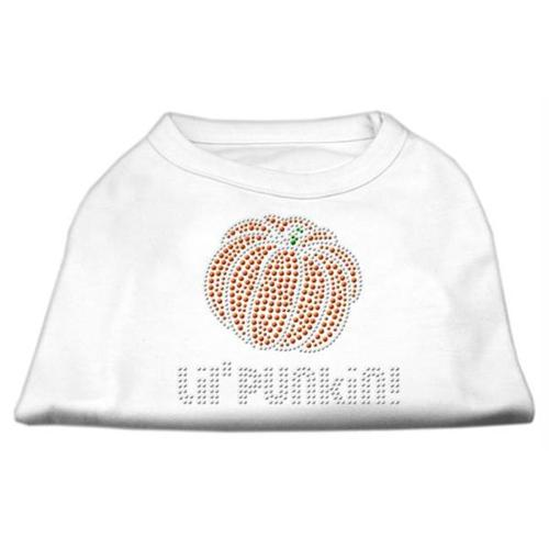 Lil' Punkin' Rhinestone Shirts White M (12)