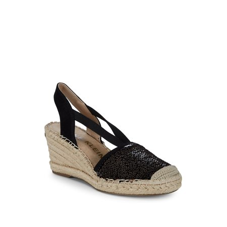 ac9600b69ff Anne Klein - Abbey Espadrille Wedge Sandals - Walmart.com