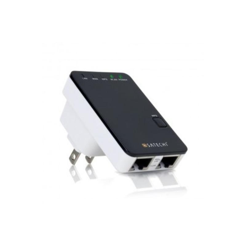 Satechi Wireless 300Mbps Multifunction Mini Router / Repe...