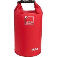 Lewis N Clark 94810RED 10 Ltr WaterSeals Dry Bag, Red