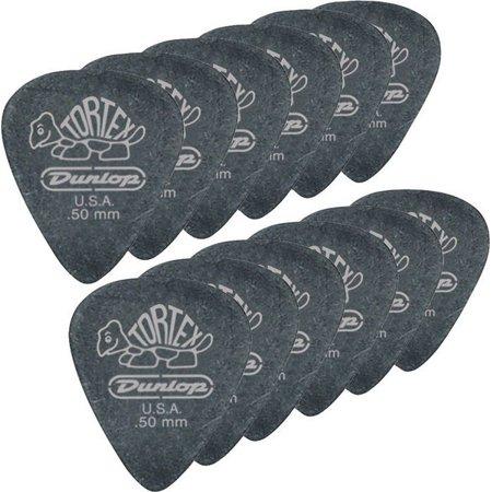 Dunlop Black Standard Picks (Dunlop Tortex Pitch Black Standard Guitar Picks 1 Dozen)