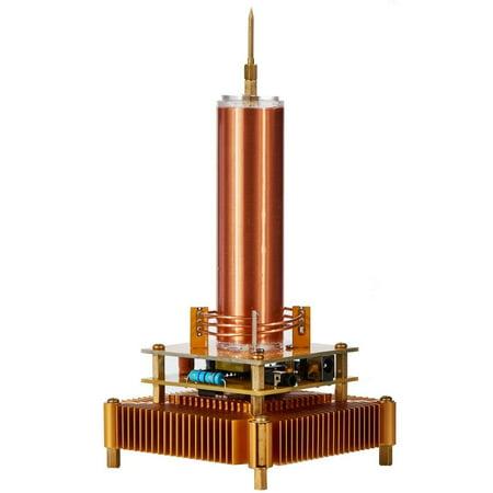 - Joytech Music Tesla Coil Acrylic Base Shell Arc Plasma Loudspeaker Wireless Transmission Experiment Desktop Toy Model (YS01)