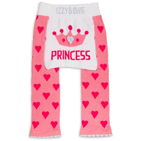 Izzy & Owie - Pink Princess Crown Baby - Princess Jasmine Leggings