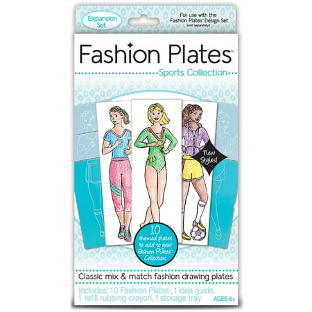 Fashion Plates Kit, Sports - Fashion Angels.com