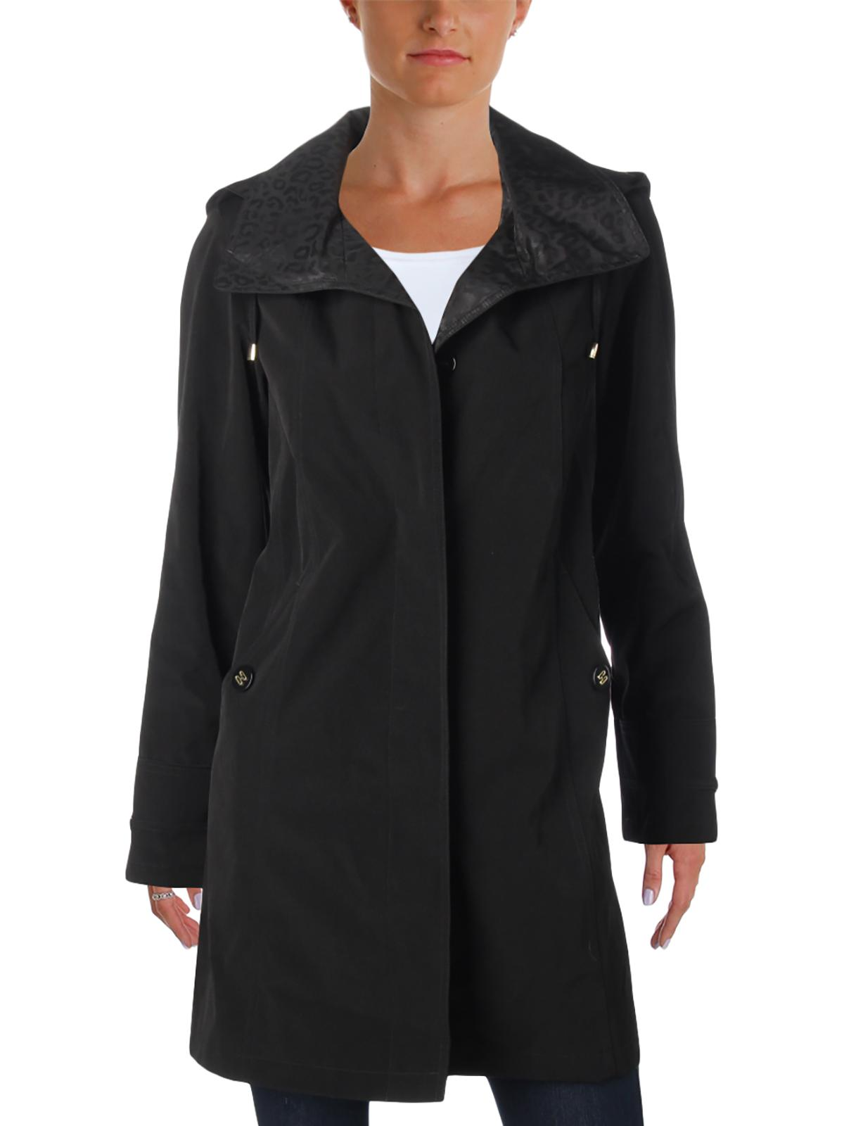 Gallery Womens Petites Fall Lightweight Water Resistant Coat