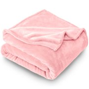 Bare Home Ultra Soft Microplush Velvet Blanket - Luxurious Fuzzy Fleece Fur - All Season Premium Bed Blanket