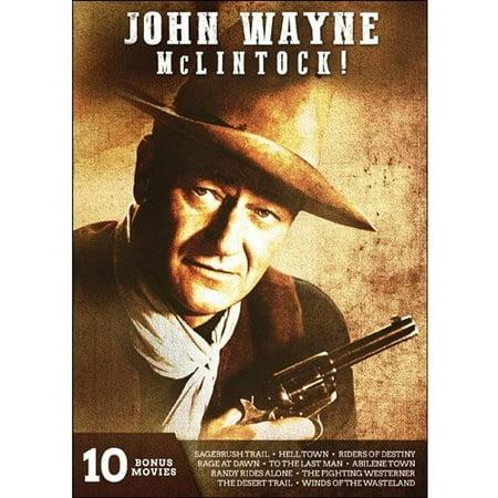John Wayne: Mclintock - 10 Bonus Movies DVD