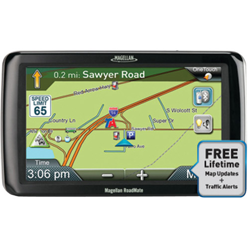 """MAGELLAN RC9261SGLUC RoadMate(R) Commercial 9261TLM 7"""" Truck GPS Device with Free Lifetime Map & Traffic Updates"""