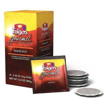 FOLGERS FOLGERS Hazelnut Coffee Pods, Flavored, 10g, PK108