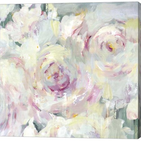 Metaverse C949687-0120000-AAAACMA Shabby Peony II by PI Galerie Canvas Wall Art - 12 x 12 in. - Shabby Shic