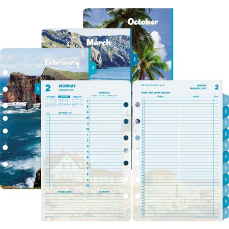- Day-Timer Coastlines 2PPD Planner Refill