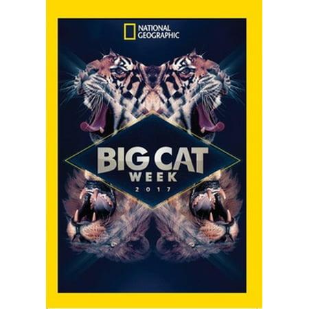 National Geographic: Big Cat Week 2017 (DVD) - Halloween Day Of Week 2017