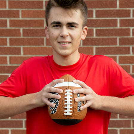 Passback Official Composite Football, Ages 14+, High School Training