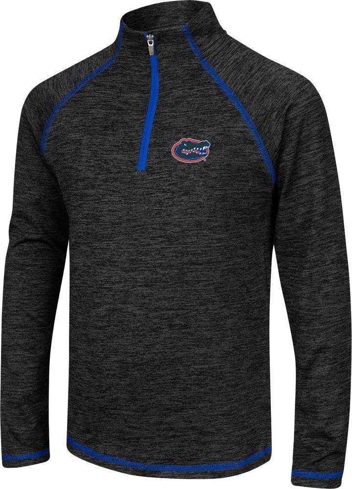 Girls Quarter Zip University of Florida Gators Long Sleeve Windshirt