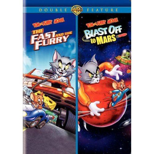 Tom And Jerry Movie Double Feature: The Fast And The Furry / Blast Off To Mars (Full Frame)