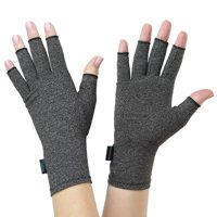 NatraCure Arthritis Compression Gloves - Small - (for Relief from Stiff Joints, Inflammation, Carpal Tunnel, and Rheumatoid & Osteoarthritis Pain)