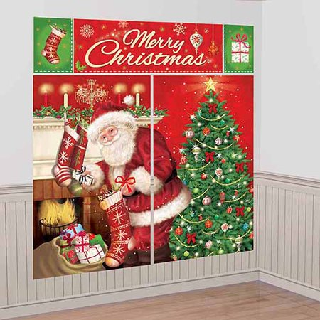 Magical Christmas Scene Decoration