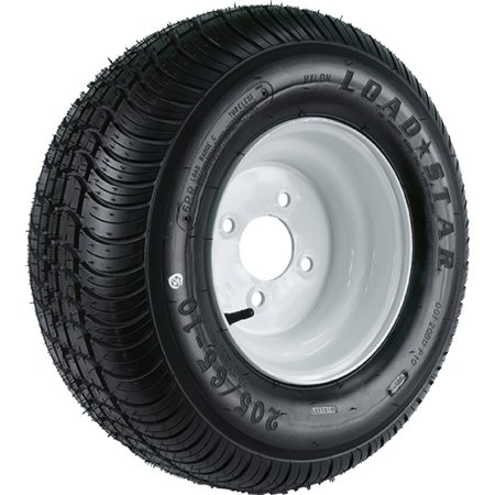 Rf Low Profile Wheel (Loadstar Wide Profile Tire and Wheel (Rim) Assembly K399, 165/65-8 Bias (Replaces 16.5x6.50-8))
