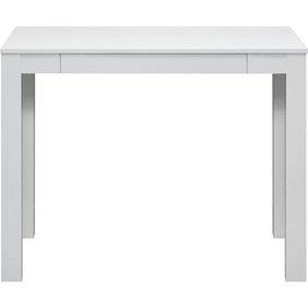 Altra Parsons Desk With Drawer Oak Finish Walmart Com