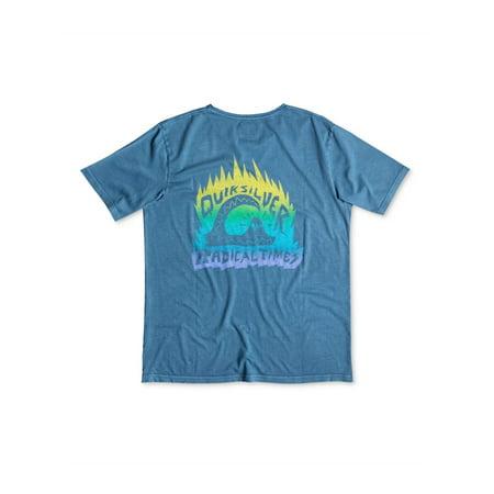 Quiksilver Mens Radical Times Graphic T-Shirt brq0 XL