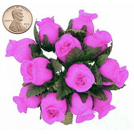 144 miniature poly rose silk favor flower pick wedding shower 144 miniature poly rose silk favor flower pick wedding shower fuchsia mightylinksfo