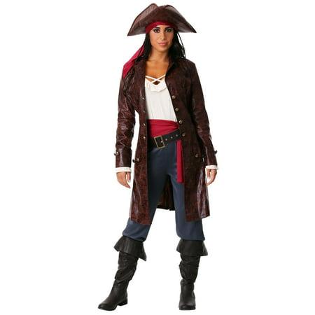 Women's Pretty Pirate Captain - Women's Captain Costume