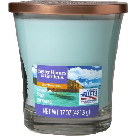 - Better Homes and Gardens Caribbean Sea Breeze Candle, 17 oz