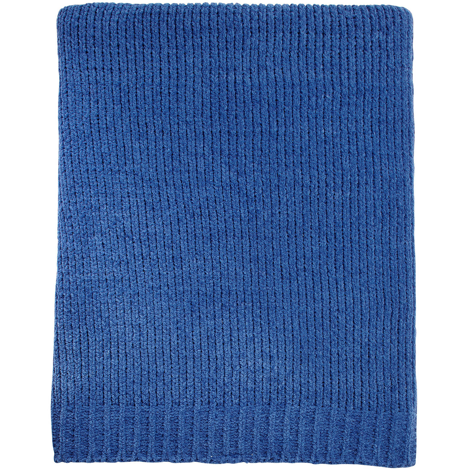 Little Love Chenille Blanket, Navy
