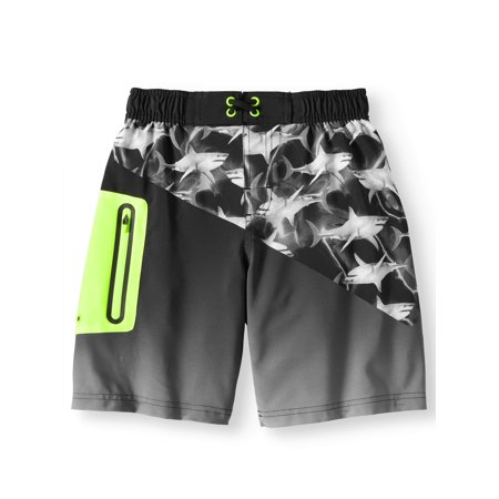 Boys Graphic Swim Trunk (Little Boys & Big Boys)