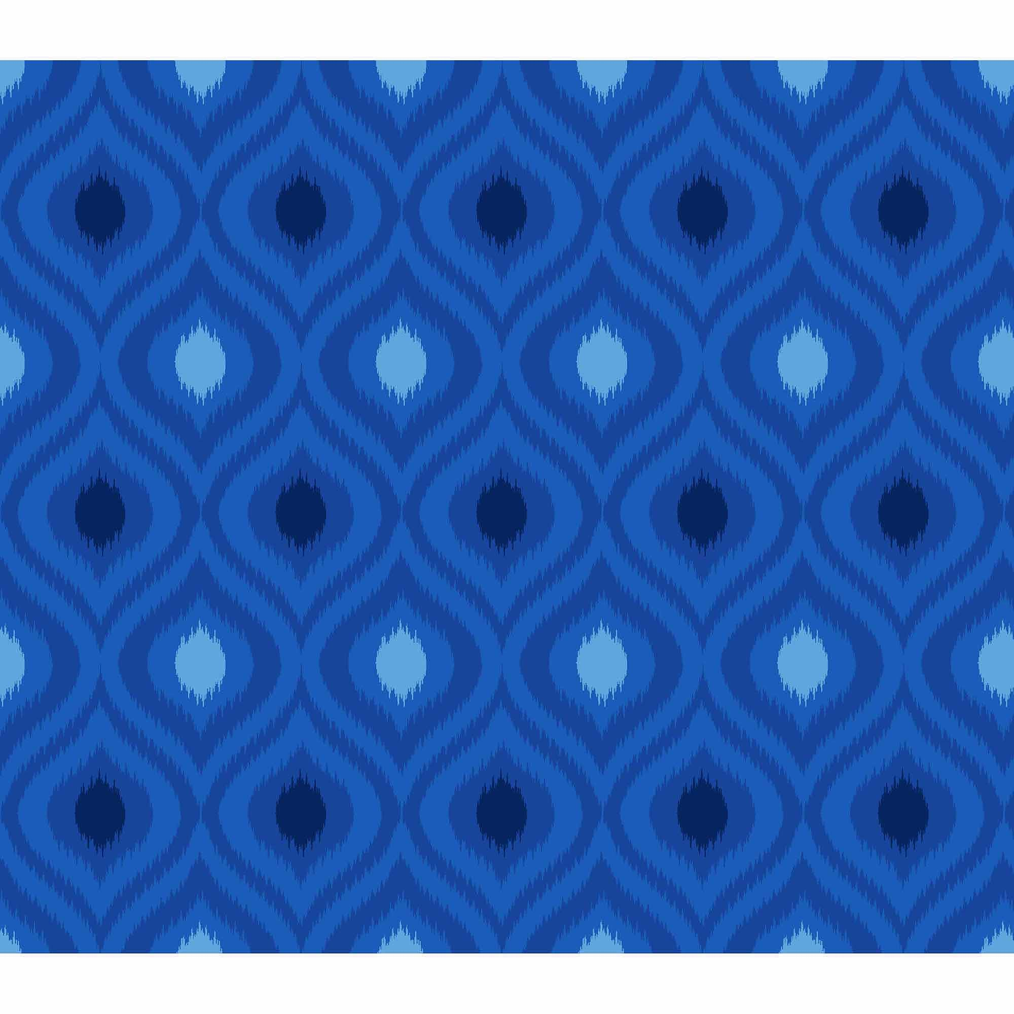 Springs Creative Cotton Blenders Tonal Ikat, Blue, Fabric by the Yard