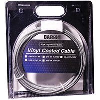 Vinyl Cables (BARON MFG 100ft Vinyl Cable 1/8-3/16)